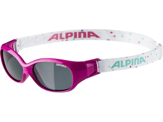 a7f7c75a43 Alpina Sports Flexxy - Gafas ciclismo Niños - rosa/Multicolor   Campz.es
